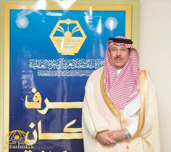 تصريح عضو الهيئة العليا للجائزة المهندس يوسف بن عبد الستار الميمني
